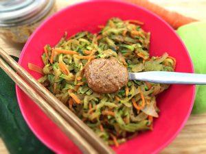 Legumes salteados com manteiga de avelãs - Blog da Spice