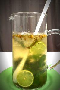 -Chá de camomila, lima e hortelã - Blog da Spice