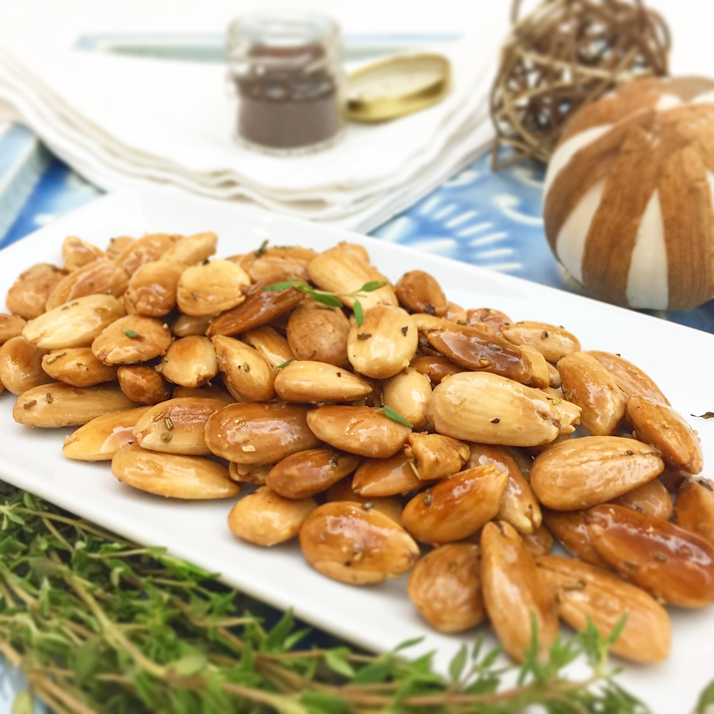 Amêndoas com mel de rosmaninho e pimenta - Blog da Spice