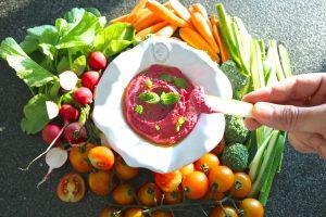 Hummus de Beterraba e Menta - Receita Vegan - Blog da Spice