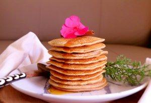 Panquecas vegan de espelta e canela - Blog da Spice