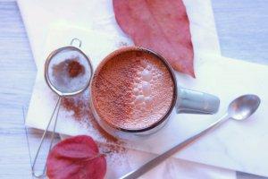 Cacau quente com leite de avelã - Blog da Spice