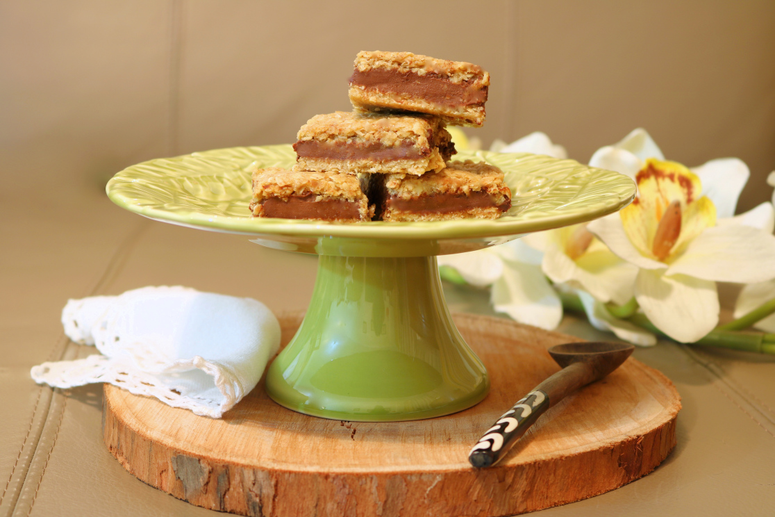 Fatias de aveia e chocolate - Blog da Spice