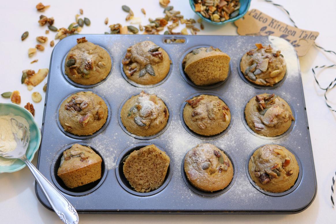Mini queques de granola - Blog da Spice