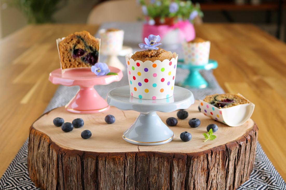 Muffins de mirtilos - Blog da Spice