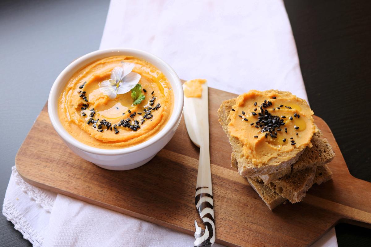 Hummus de batata doce - Blog da Spice