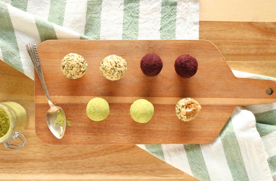 Trufas energéticas com 3 ingredientes - Blog da Spice