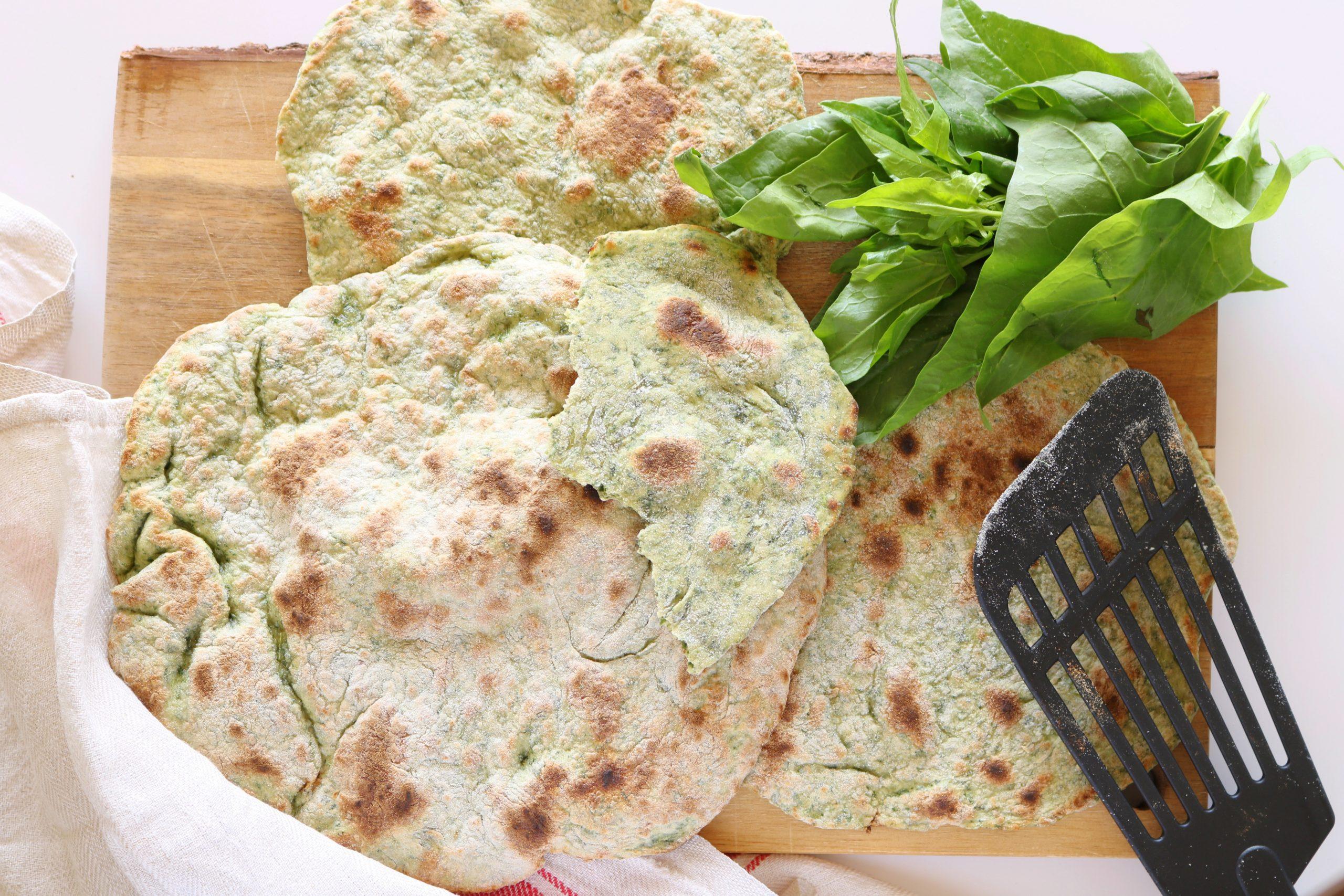 Chapatis de espinafres - Blog da Spice