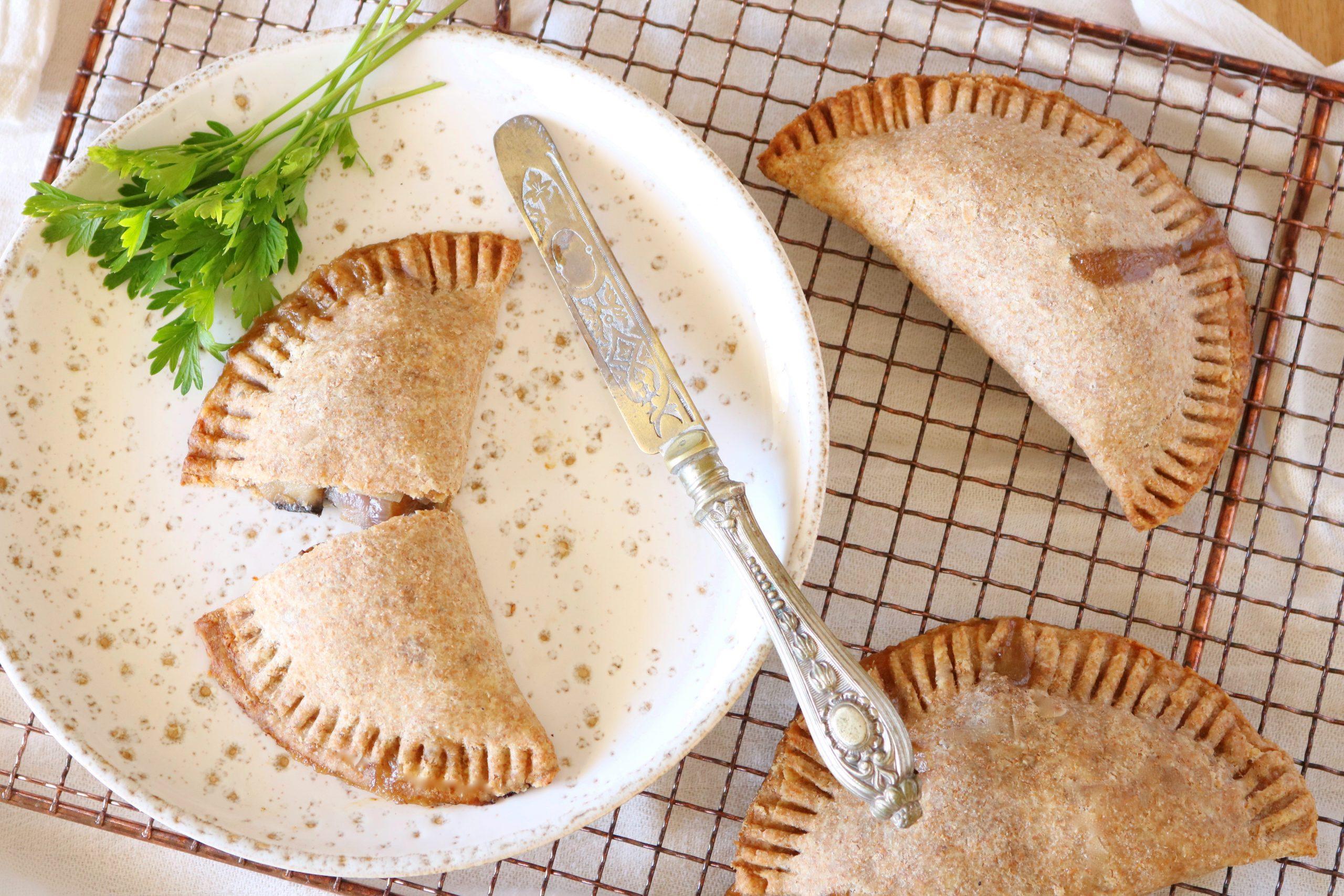 Empanadas de cogumelos e alho francês - Blog da Spice