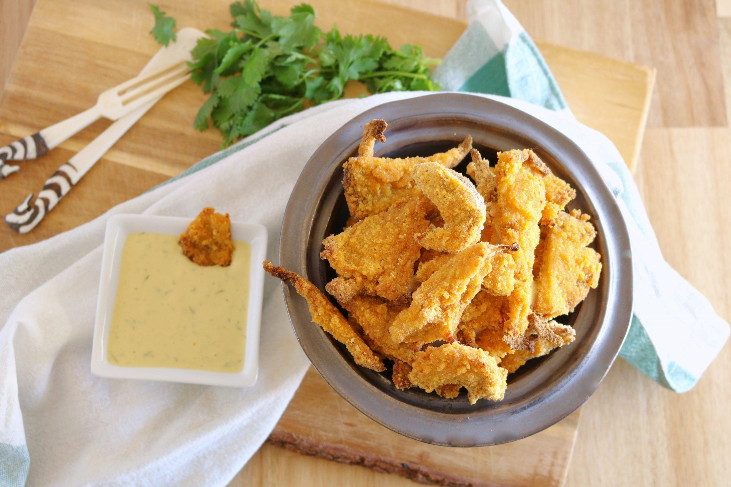 Nuggets de Cogumelos - Receita Vegan - Blog da Spice