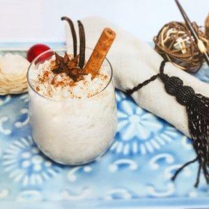 Arroz doce com leite de amêndoa e coco - Blog da Spice