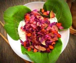 Noodles de arroz com vegetais e molho de tamarindo - Blog da Spice