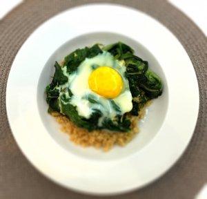 Revueltos de quinoa e espinafres - Blog da Spice