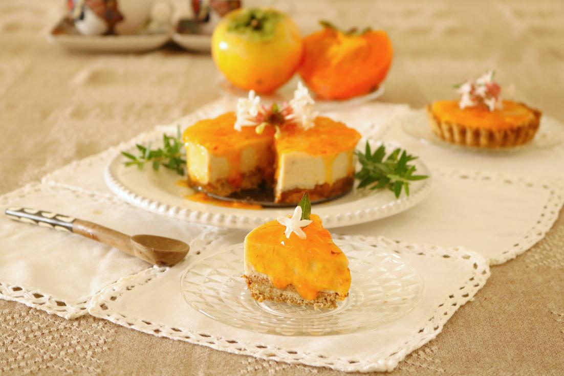 Cheesecake de dióspiros - Blog da Spice