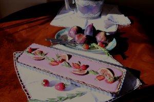 Cheesecake de Morangos com Figos e Alecrim - Blog da Spice