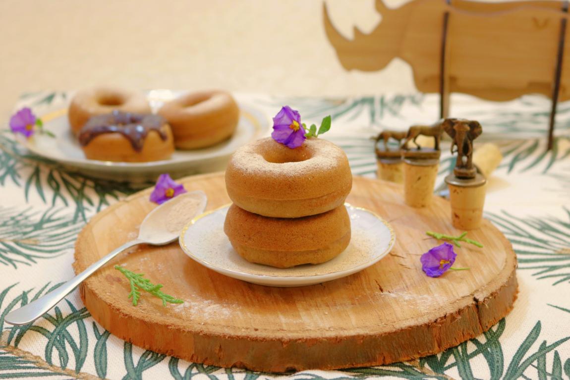 Donuts com pó doce e canela - Blog da Spice