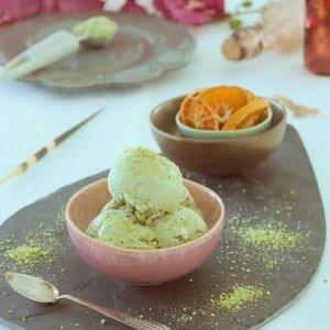 Gelado de Pistacho e Matcha - Receita Vegan - Blog da Spice