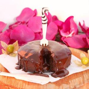 Vulcão de Chocolate - Receita Vegan e Sem Açúcar - Blog da Spice