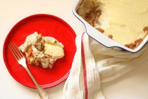 Cassarola de Legumes com bechamel de couve flor blog da spice