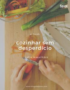 E-book Cozinhar sem desperdício