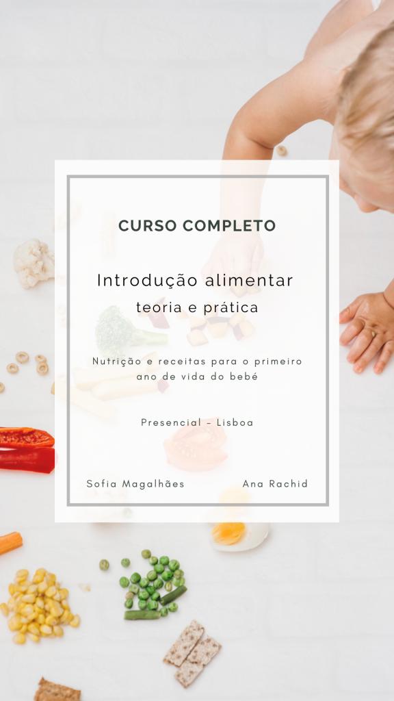 Curso introdução alimentar bebés