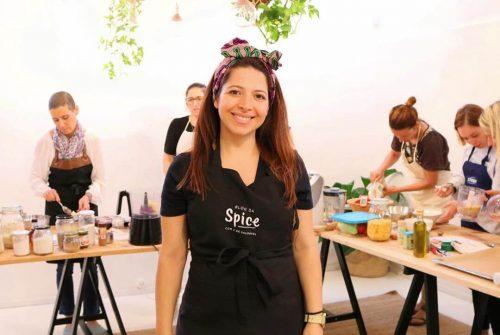 Sofia do Blog da Spice - Ambiente de Workshop